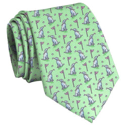 Dogleg on Six Tie in Mint by Bird Dog Bay