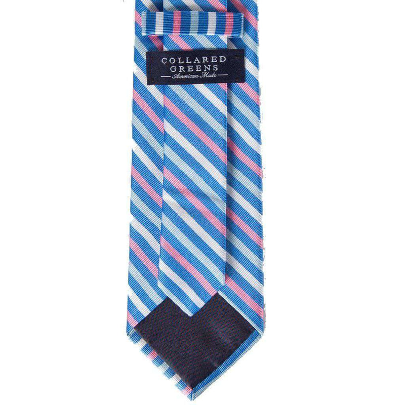 Eastwood Tie in Blue & Pink by Collared Greens - FINAL SALE