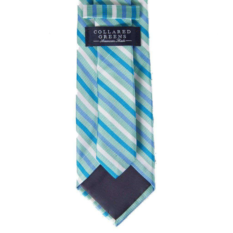 Eastwood Tie in Teal & Blue by Collared Greens - FINAL SALE