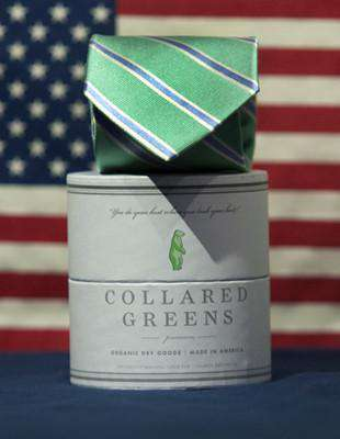 Neck Ties - Laurel Tie In Teal By Collared Greens