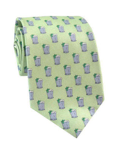 Neck Ties - Mint Julep Tie In Green By Southern Proper
