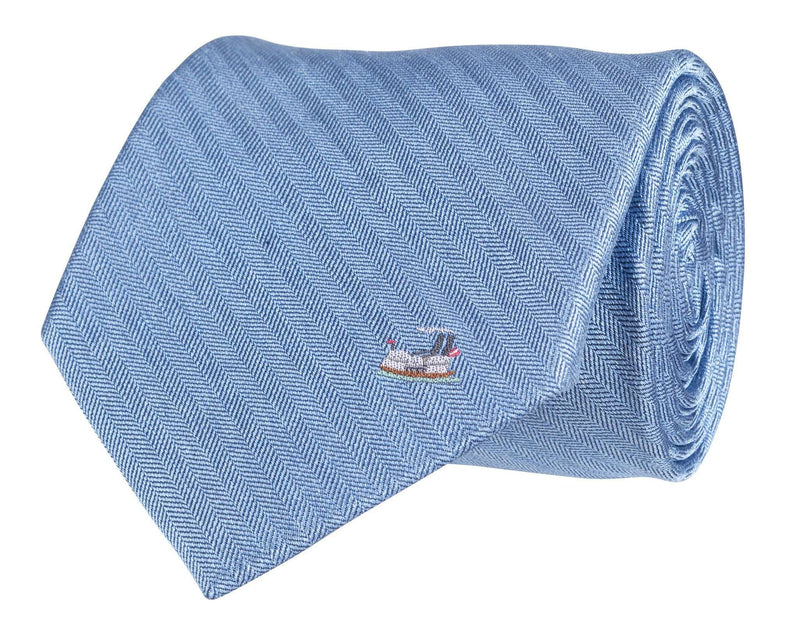 Neck Ties - Riverboat Tie In Blue By Southern Proper
