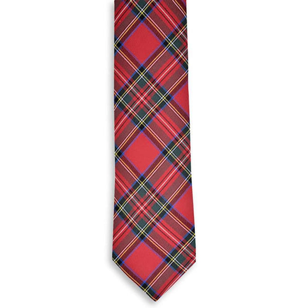 Royal Stewart Necktie by High Cotton