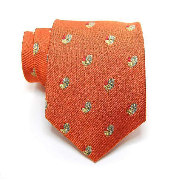 Snooty Fox Woven Tie in Green by Peter-Blair
