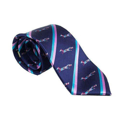 Neck Ties - The Longshanks Neck Tie In Navy By Dogwood Black