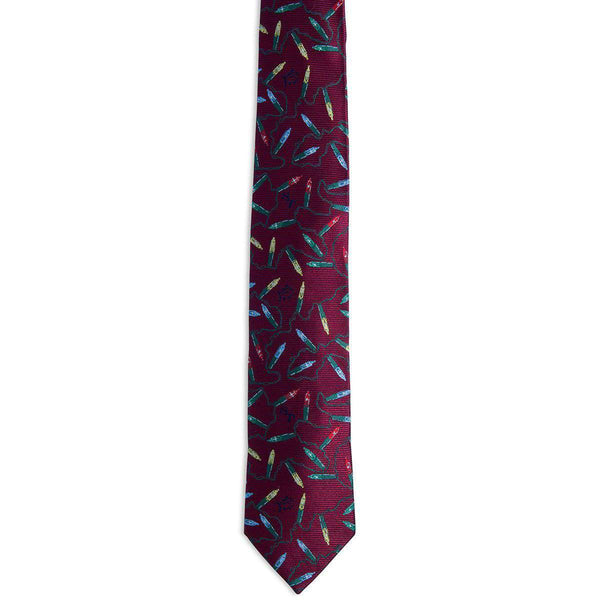 Tidings Tie in Red by Southern Tide