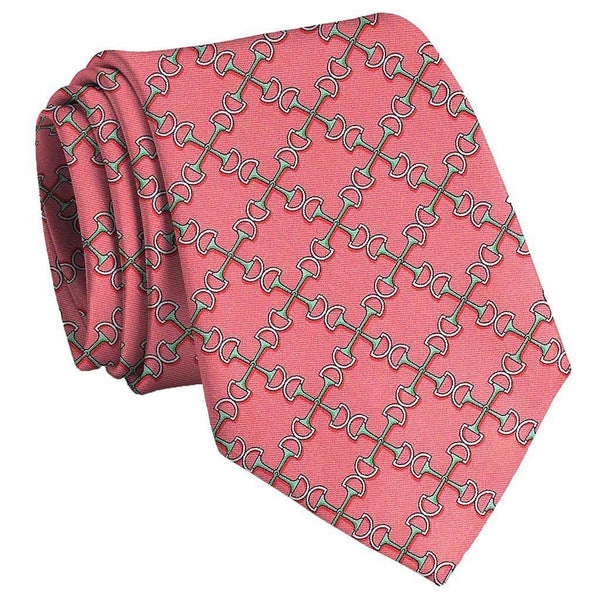 Two Bits Tie in Coral by Bird Dog Bay - FINAL SALE