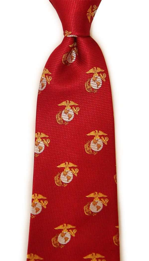 Dogwood black us marine corps neck tie in crimson country club prep neck ties us marine corps neck tie in crimson by dogwood black ccuart Images