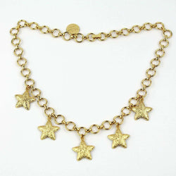 Necklaces - Five Starfish Necklace By Just Madras - FINAL SALE