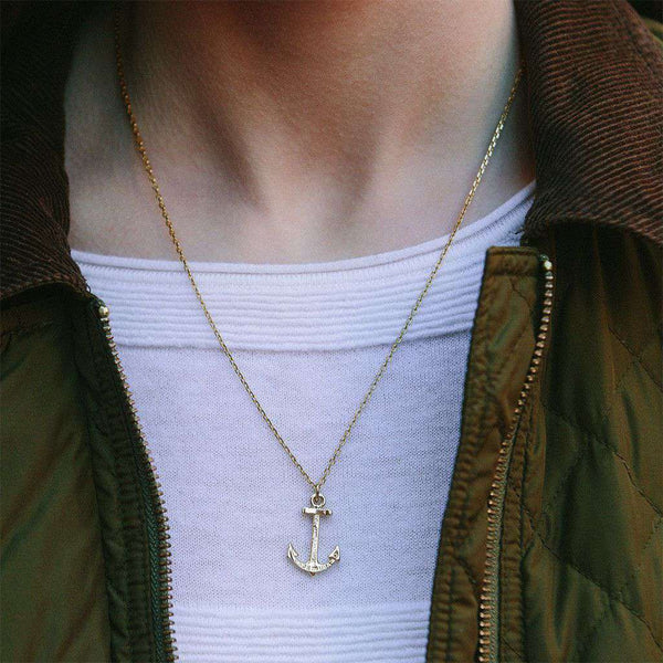 Necklaces - Hope Necklace In Gold By Kiel James Patrick