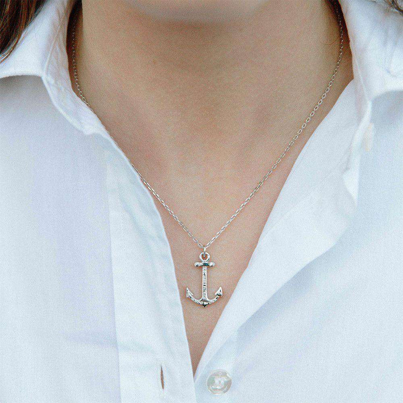 Hope Necklace in Silver by Kiel James Patrick