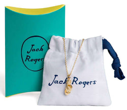 Necklaces - Navajo Charm Necklace In Gold By Jack Rogers