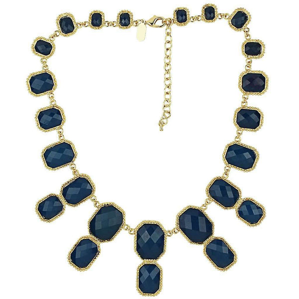 The Super Kelly Necklace in Navy by Fornash