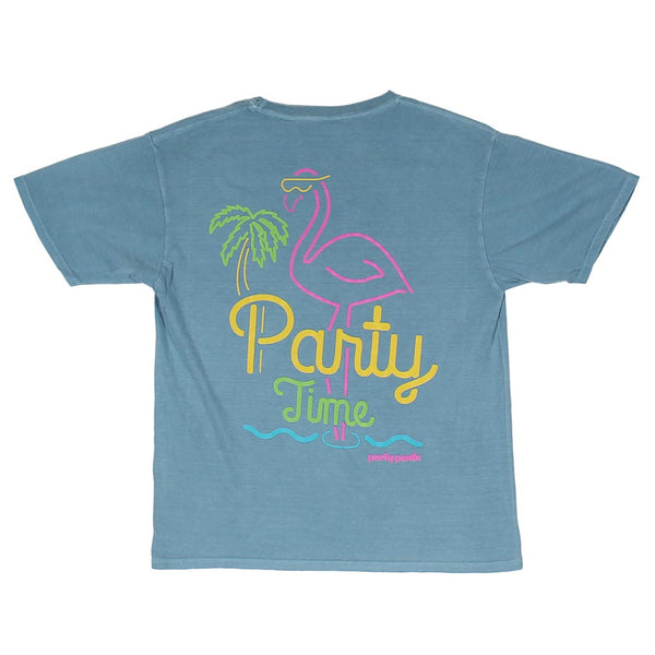 Party Time Short Sleeve Tee Shirt by Party Pants