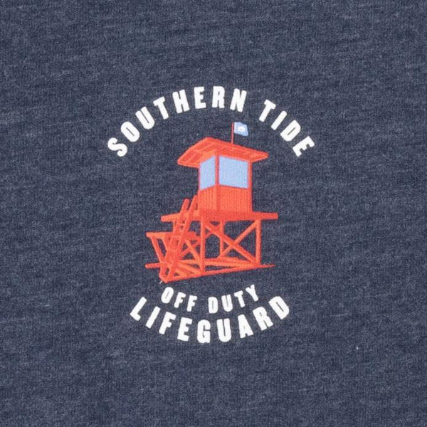 Off Duty Lifeguard Tee Shirt by Southern Tide