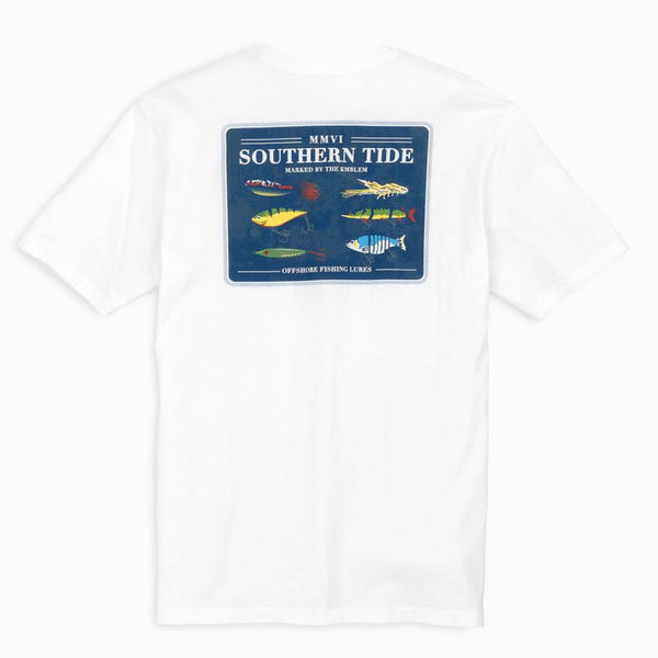 Offshore Fishing Lures Tee Shirt by Southern Tide