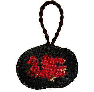 Ornaments - University Of South Carolina Needlepoint Christmas Ornament In Black By Smathers & Branson