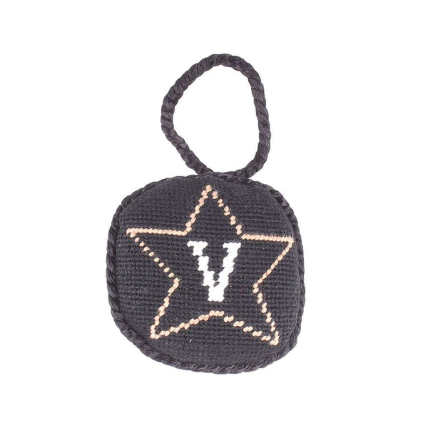 Ornaments - Vanderbilt Needlepoint Christmas Ornament By Smathers & Branson