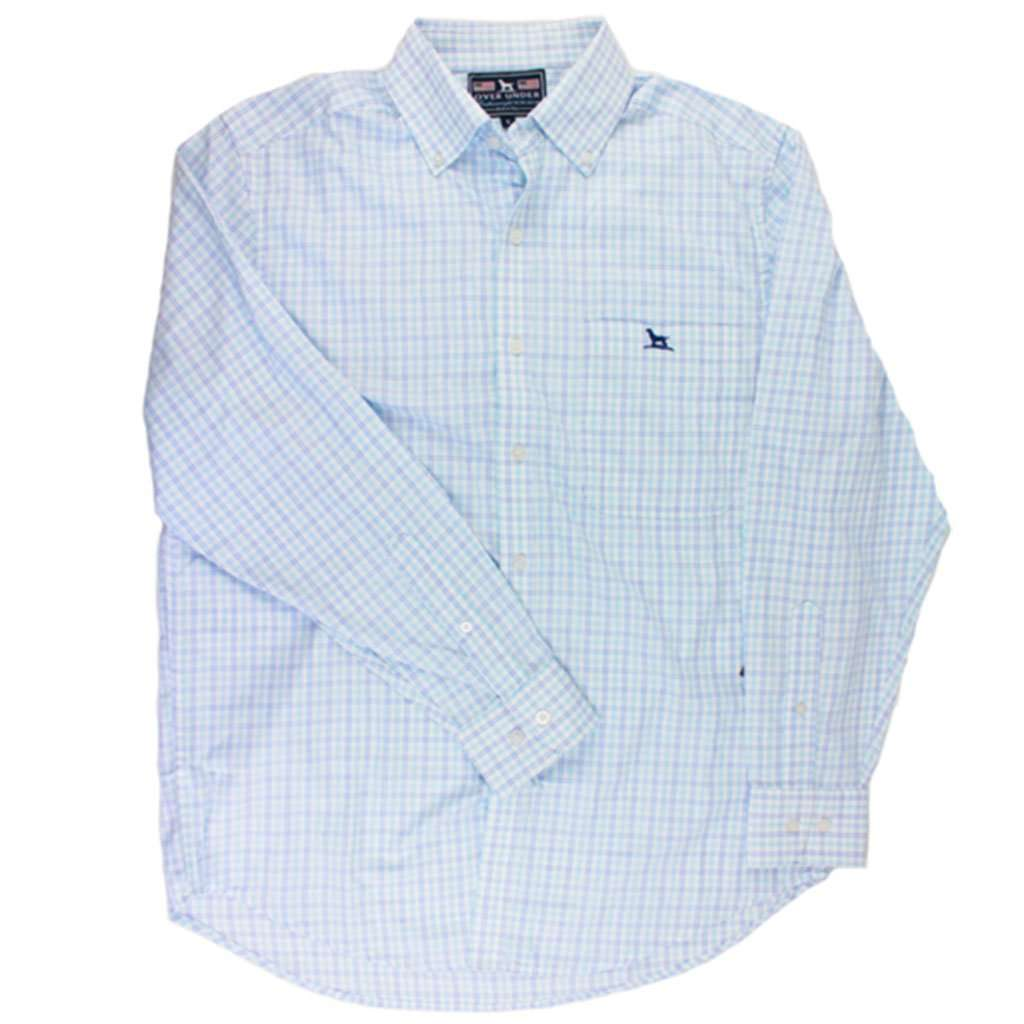 Over Under Clothing Featherweight Button Down in Cloud