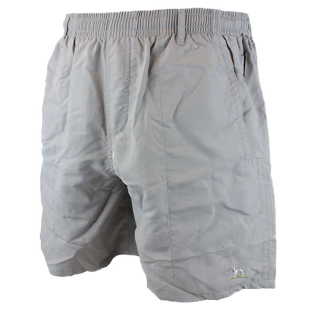 Over Under Clothing Shearwater Swim Short in Grey