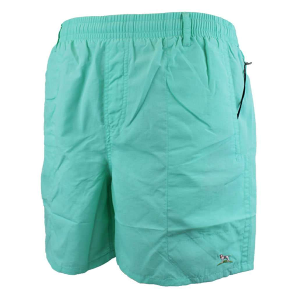 Over Under Clothing Shearwater Swim Short in Seafoam