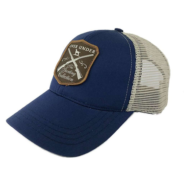 Sporting Company Mesh Back Hat in Bold Blue by Over Under Clothing