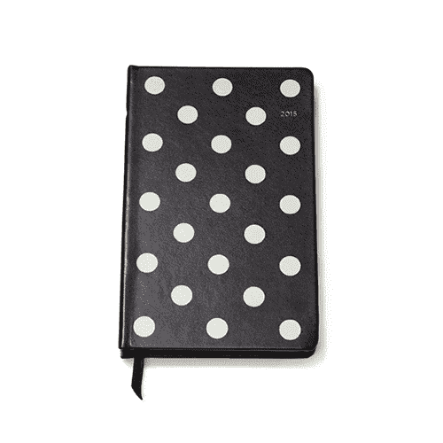 Paper & Stationery - 12 Month Medium 2015 Agenda In Deco Dot By Kate Spade New York
