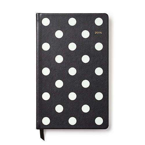 Paper & Stationery - 12 Month Medium 2016 Agenda In Deco Dot By Kate Spade New York - FINAL SALE