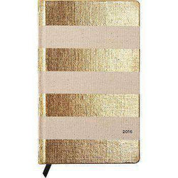 Paper & Stationery - 12 Month Medium 2016 Agenda In Linen Stripe By Kate Spade New York