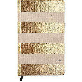 12 Month Medium 2016 Agenda in Linen Stripe by Kate Spade New York