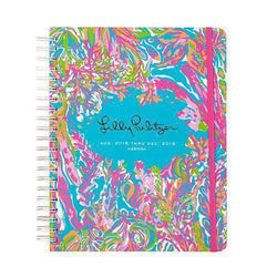 Paper & Stationery - 17 Month Jumbo 2016 Agenda In Scuba To Cuba By Lilly Pulitzer - FINAL SALE