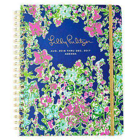 17 Month Jumbo 2017 Agenda in Southern Charm by Lilly Pulitzer - FINAL SALE