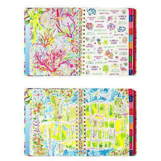 Paper & Stationery - 17 Month Jumbo 2017 Agenda In Southern Charm By Lilly Pulitzer - FINAL SALE