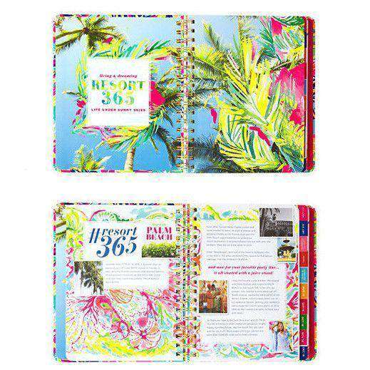 Paper & Stationery - 17 Month Jumbo 2017 Agenda In Tusk In Sun By Lilly Pulitzer - FINAL SALE