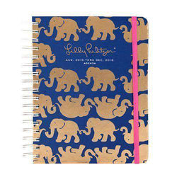 Paper & Stationery - 17 Month Large 2016 Agenda In Tusk In Sun By Lilly Pulitzer - FINAL SALE