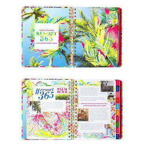 17 Month Large 2017 Agenda in Island Time by Lilly Pulitzer - FINAL SALE