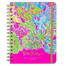 Paper & Stationery - 17 Month Large 2017 Agenda In Lovers Coral By Lilly Pulitzer - FINAL SALE