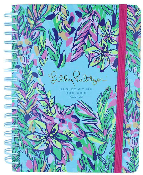 Paper & Stationery - 17 Month Large Agenda In Hot Spot By Lilly Pulitzer - FINAL SALE
