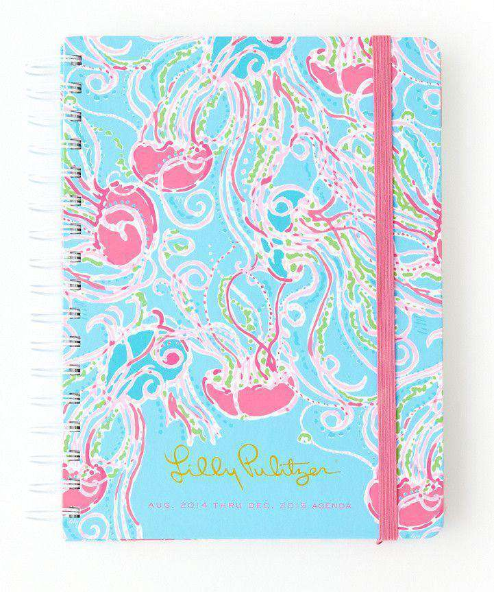 Paper & Stationery - 17 Month Large Agenda In Jellies Be Jammin By Lilly Pulitzer - FINAL SALE