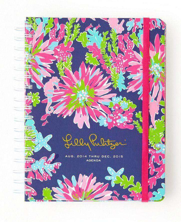 Paper & Stationery - 17 Month Large Agenda In Trippin And Sippin By Lilly Pulitzer - FINAL SALE