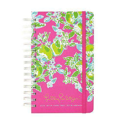 Paper & Stationery - 17 Month Medium 2016 Agenda In Pink Lemonade By Lilly Pulitzer - FINAL SALE