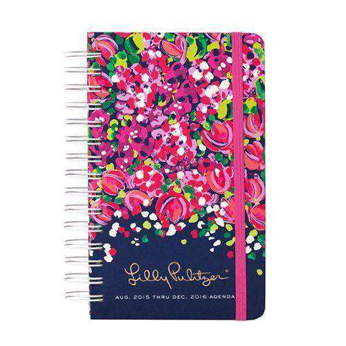 17 Month Medium 2016 Agenda in Wild Confetti by Lilly Pulitzer - FINAL SALE