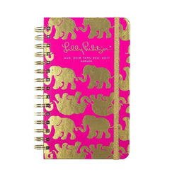 Paper & Stationery - 17 Month Medium 2017 Agenda In Tusk In Sun By Lilly Pulitzer - FINAL SALE