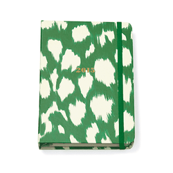 Paper & Stationery - 17 Month Medium Agenda In Painterly Cheetah By Kate Spade New York