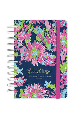 Paper & Stationery - 17 Month Pocket Agenda In Trippin And Sippin By Lilly Pulitzer - FINAL SALE