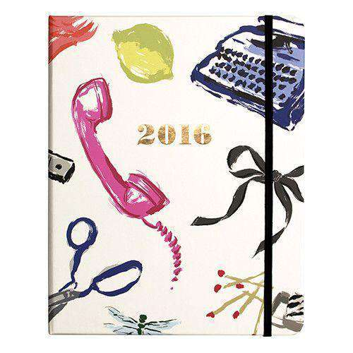 Paper & Stationery - 2016 - 17 Month Large Agenda In Favorite Things By Kate Spade New York - FINAL SALE