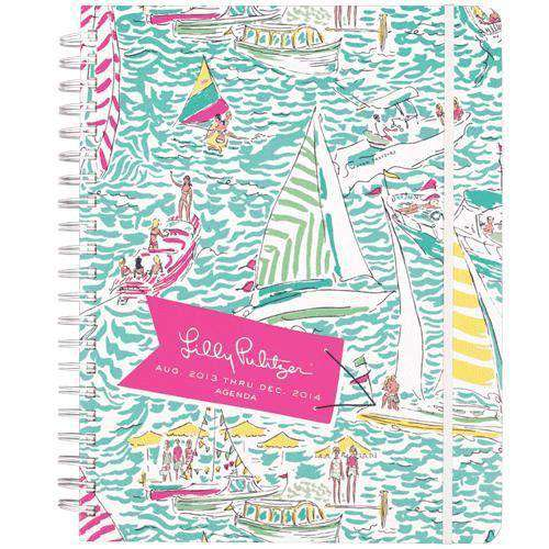 Paper & Stationery - Jumbo 17-Month Agenda In Get Nauti By Lilly Pulitzer - FINAL SALE