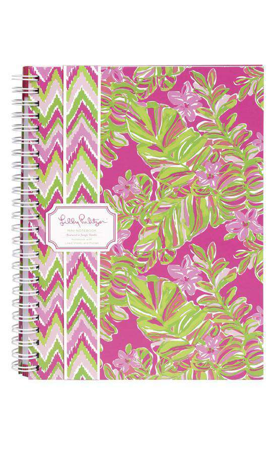 Paper & Stationery - Mini Notebook In Jungle Tumble By Lilly Pulitzer