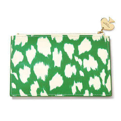 Paper & Stationery - Pencil Pouch In Painterly Cheetah By Kate Spade New York
