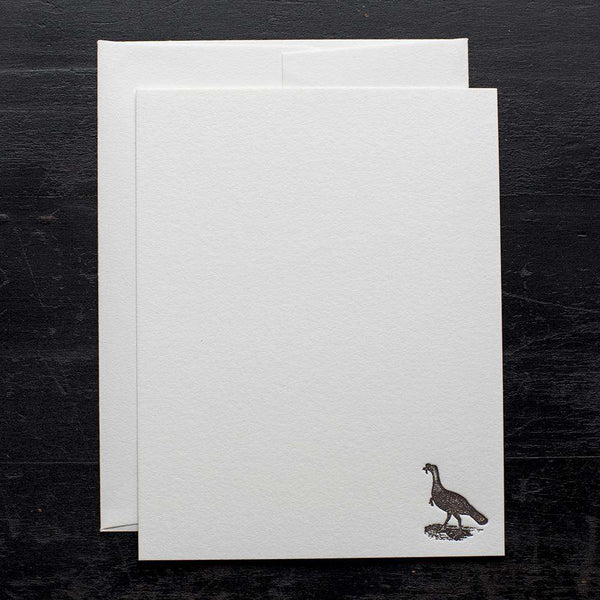 Wild Turkey Note Card Set by Ancesserie - FINAL SALE